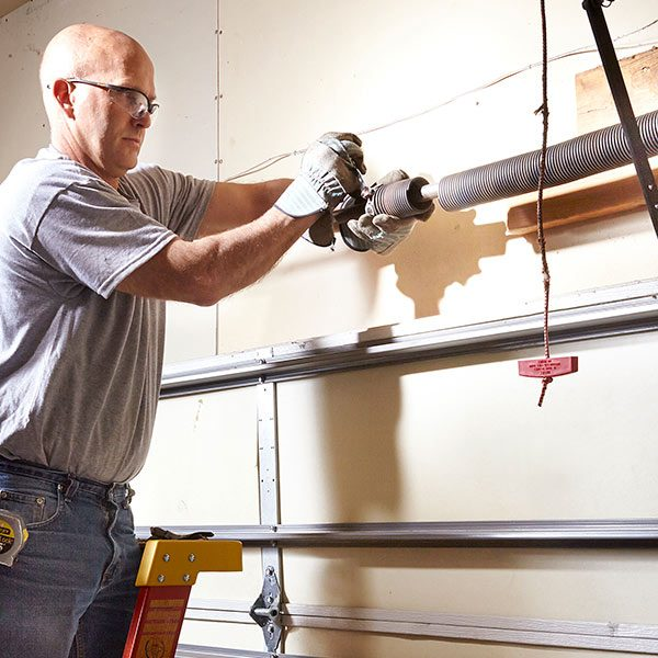 Advanced Garage Overhead Door Repairs The Family Handyman