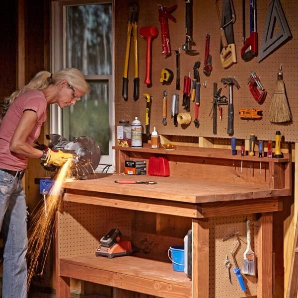 Do It Yourself Garage Workbench Plans: Classic DIY Workbench Plans