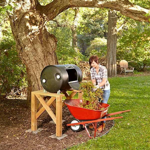 Diy Compost Tumbler The Family Handyman
