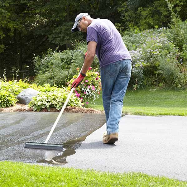 How To Seal An Asphalt Driveway The Family Handyman