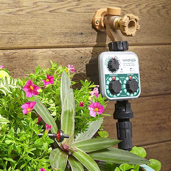 How to install an irrigation system in your yard the for Home garden irrigation design