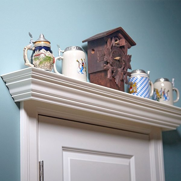 Over The Door Display Shelf Plans The Family Handyman