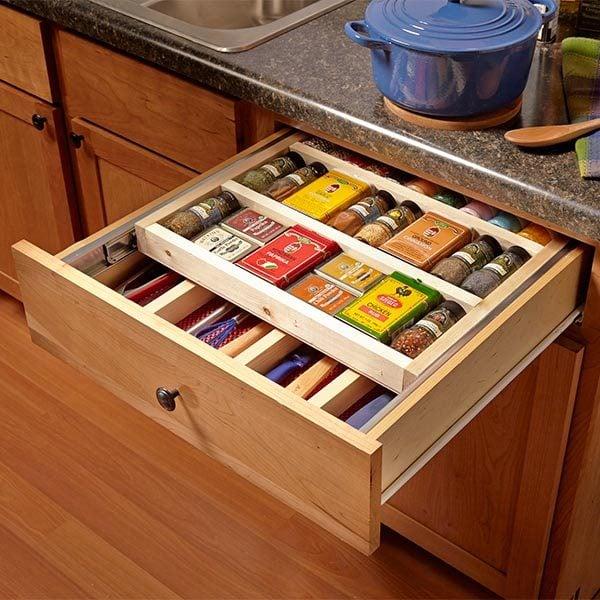 Tray Racks Kitchen Cabinets