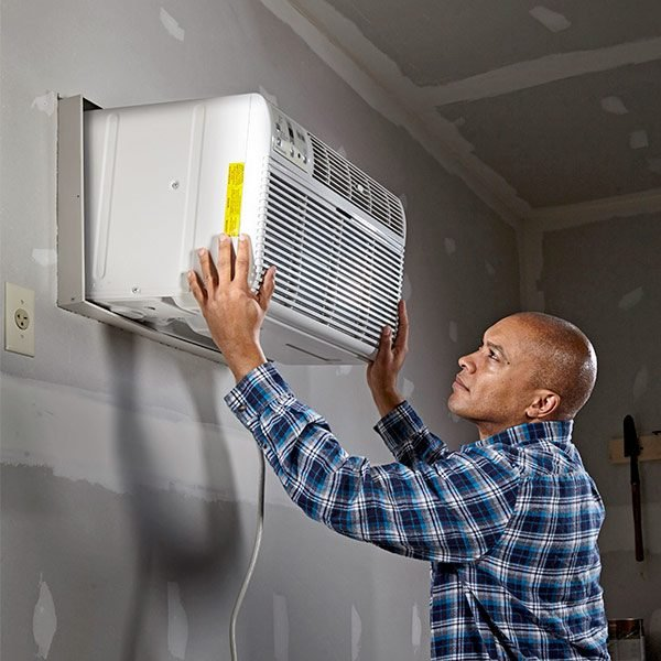 Installing a Garage Air Conditioner   The Family Handyman