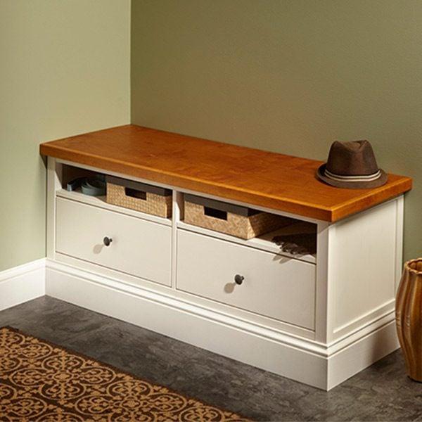 ikea hemnes hack built in bench the family handyman. Black Bedroom Furniture Sets. Home Design Ideas