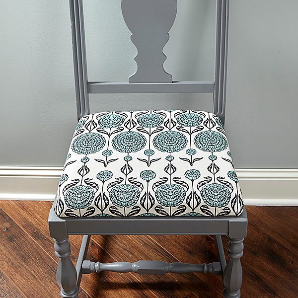 How to reupholster a chair the family handyman for How to reupholster a chair