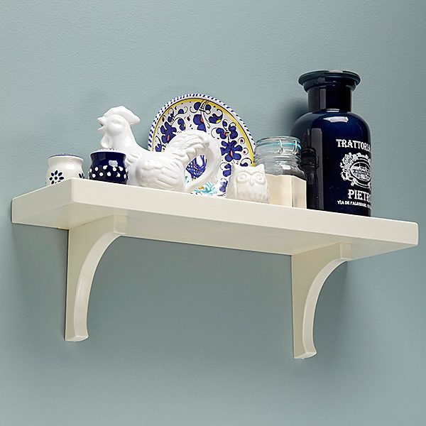 Simple Low Tech Wall Shelf Plans The Family Handyman
