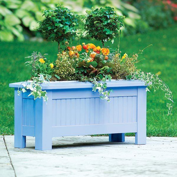 Planter Box Plans: 3-Season Planter Box Plans