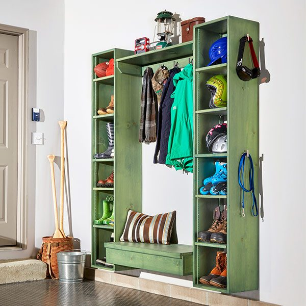 Diy Mudroom Storage Cubby Plans The Family Handyman