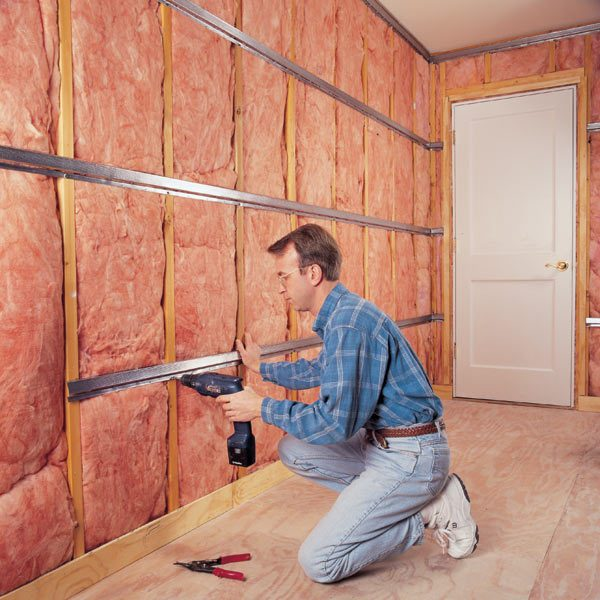 How to soundproof a room the family handyman for Inexpensive ways to build a home