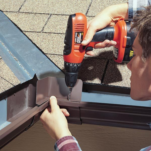 Gutters How To Fix Overflowing Gutters The Family Handyman