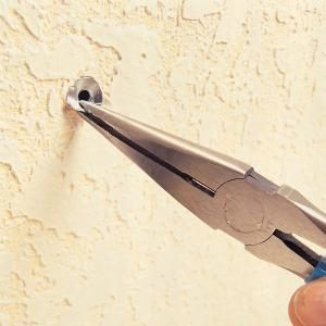 How to Remove a Hollow Wall Anchor