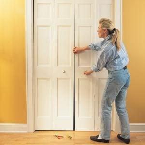 How to Fix a Bifold Door