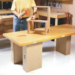 How to Build Workbenches: 4 Knockdown Designs