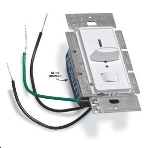 How To Install A Dimmer Switch The Family Handyman