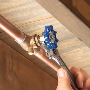 Fixing A Water Shutoff Valve Leak The Family Handyman