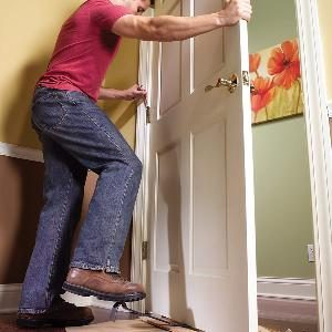 How To Remove A Door The Family Handyman