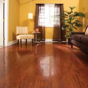 Refinish Hardwood Floors in One Day