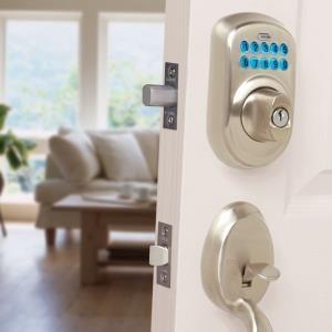 Upgrade Front Door Locks With Keyless Door Locks The