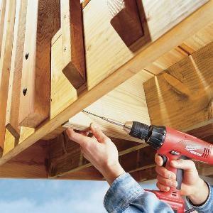Deck Railing Repair
