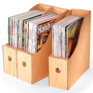 How to Make Magazine Storage Containers