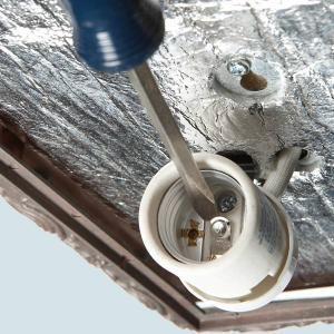 Repair a Light Fixture