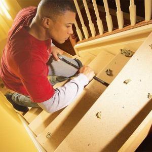 Как отремонтировать писклявый Лестницы