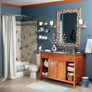 Bathroom Makeover On A Budget The Family Handyman