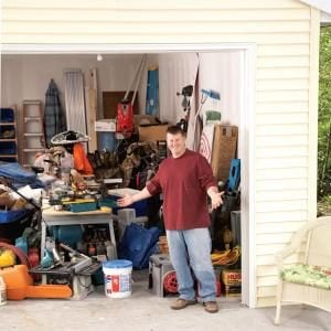 Garage Clutter Removal and Organization