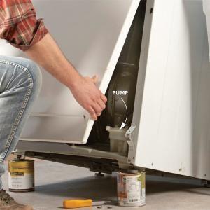 How To Drain A Washing Machine That Won T Drain The