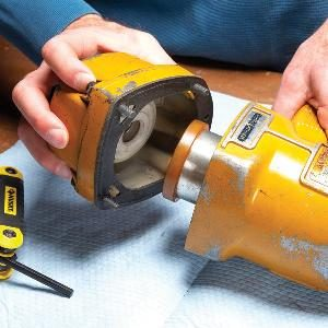 Rebuild a Framing Nailer