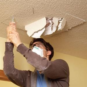 How to Patch a Textured Ceiling