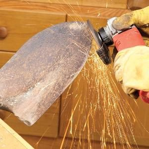 Sharpening: How to Sharpen a Shovel