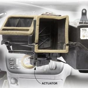 Car Heater Blowing Cold Air? Check the Actuator