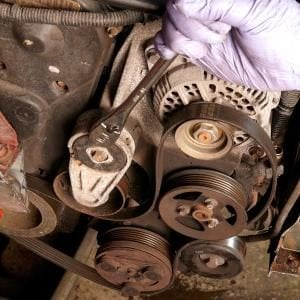 Changing a Car Serpentine Belt