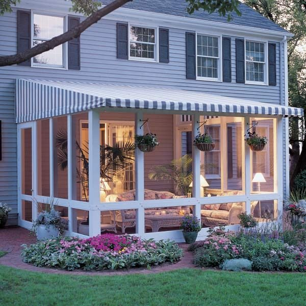 Diy Screened In Porch : How to build a screened in patio the family handyman