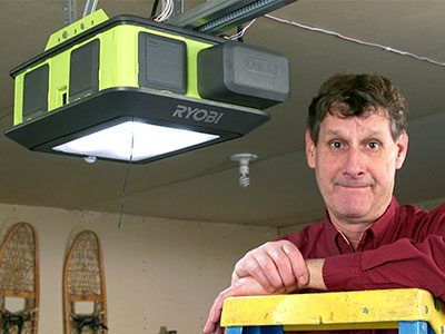 Meet The 2 Hp Ultra Quiet Ryobi Garage Door Opener The