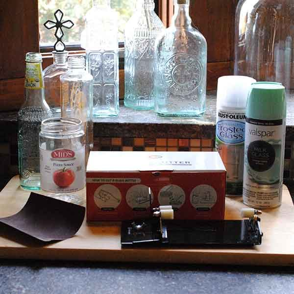 How to use a glass bottle cutter the family handyman for How to use a glass cutter on a bottle