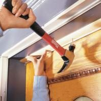 Stop drafts by installing or replacing weatherstripping.