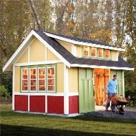 Good How To Build A Shed: 2011 Garden Shed