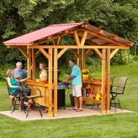 Garden Structures Fences Pergolas Arbors The Family Handyman