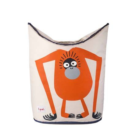 "<b>Feed the Beast</b></br> Make dirty laundry fun by choosing a silly or engaging hamper, and encourage the habit of feeding dirty clothes to the hungry hamper monster on this <a href=""http://www.target.com/p/3-sprouts-canvas-storage-hamper-orangutan/-/A-16713949"" title=""3 Sprouts Canvas Storage Hamper"" target=""_blank"">canvas storage hamper</a>."