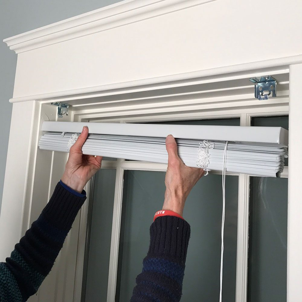 How To Install Window Blinds The Family Handyman