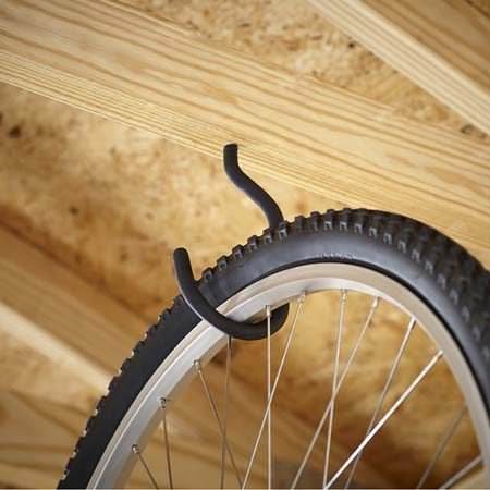 Black Steel Bike Hook
