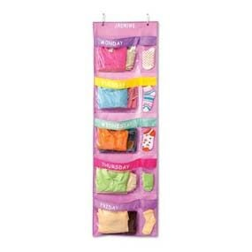 Days of the Week Hanging Organizer