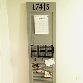 Easy-to-Build DIY Mail Organizer