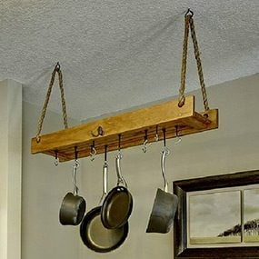 Easy-to-Build Pots and Pans Organizer Idea