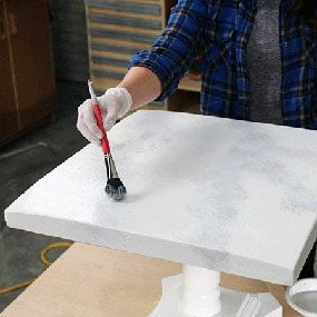 How To Paint Faux Marble