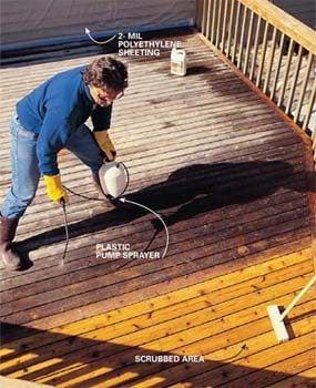 Photo 6: Clean the deck