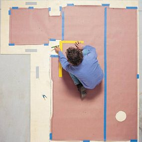 How to Install a Sheet Vinyl Floor
